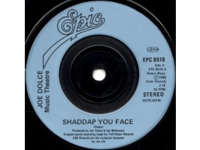 Joe Dolce Music Theatre ‎– Shaddap You Face 7''