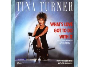 Tina Turner ‎– What's Love Got To Do With It 7''