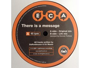 E.C.A. ‎– There Is A Message