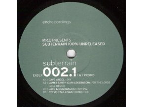 Mr.C* ‎– Subterrain 100% Unreleased (Sampler One)