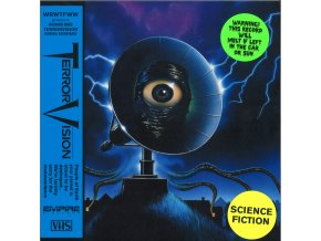 Richard Band, Fibonaccis ‎– TerrorVision (Original Soundtrack) Blue Vinyl
