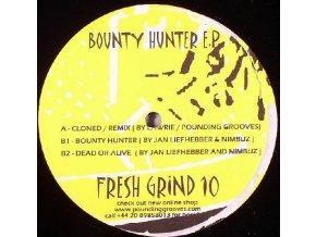 Pounding Grooves vs. Jan Liefhebber vs. Nimbuz – Bounty Hunter EP