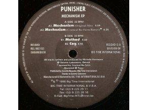 Punisher – Mechanism EP