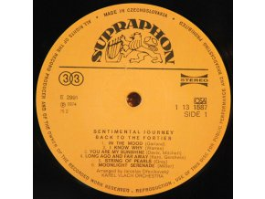 Karel Vlach Orchestra – Sentimental Journey Back To The Forties