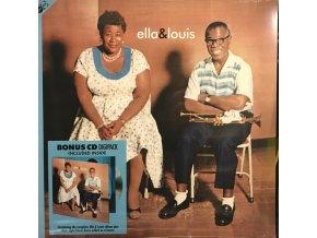 Ella Fitzgerald & Louis Armstrong – Ella And Louis plus bonus CD