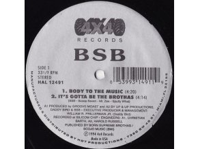 BSB – Body To The Music
