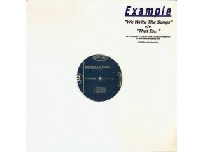 Example – We Write The Songs b/w That Is...