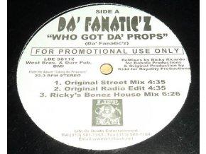 Da' Fanatic'z – Who Got Da' Props