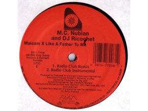 MC Nubian & DJ Ricochet – Malcolm X Like A Father To Me