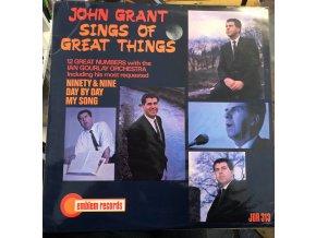 John Grant - Sings of Great Things