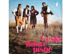 Plzeňský Lidový Soubor – České Lidové Písně = Czech Folk Songs