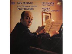 Schumann, Franck, Ivan Moravec, Czech Philharmonic Orchestra, Václav Neumann – Piano Concerto / Symphonic Variations
