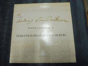 Ludwig van Beethoven, Česká Filharmonie*, Paul Klecki* – Symfonie Č. 4 B Dur, Op. 60
