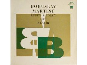 Bohuslav Martinů – Etudy A Polky Pro Klavír