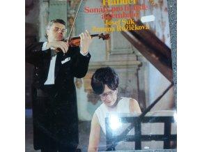 Josef Suk And Zuzana Růžičková / Handel* – Sonáty pro housle a cembalo