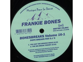 Frankie Bones – Bonesbreaks Volume 16-1