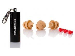 EarPeace - Špunty do uší na koncerty, pro muzikanty, dje, motorkáře