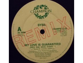 Sybil ‎– My Love Is Guaranteed Remix