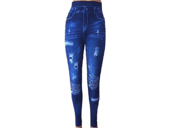 Elastické leginy Jeans
