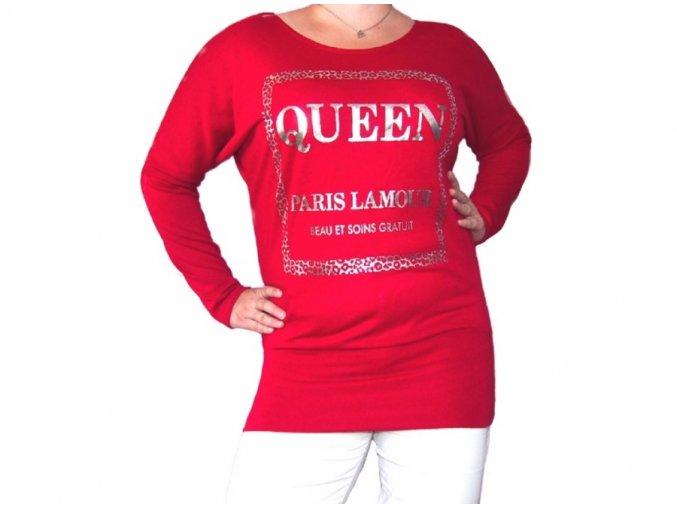 Dlouhá halenka Queen