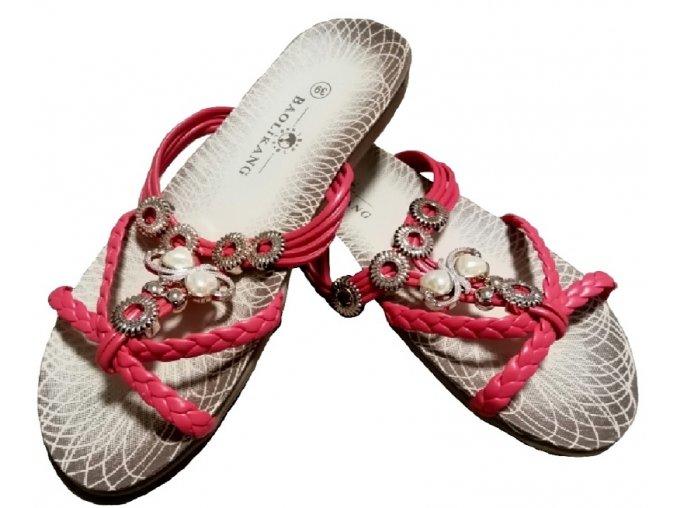 Dámské sandále Kasandra (červené)