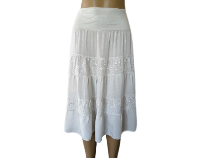 Bavlněná letní sukně