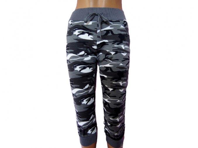 Elastické kraťasy Army styl