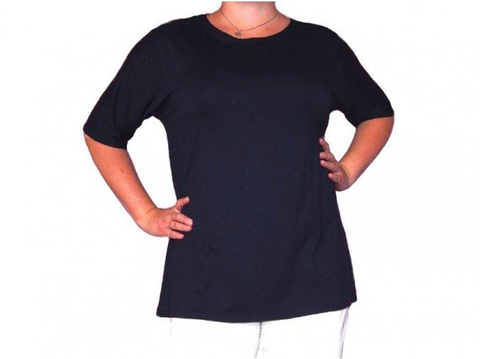 Jednobarevné tričko Linda