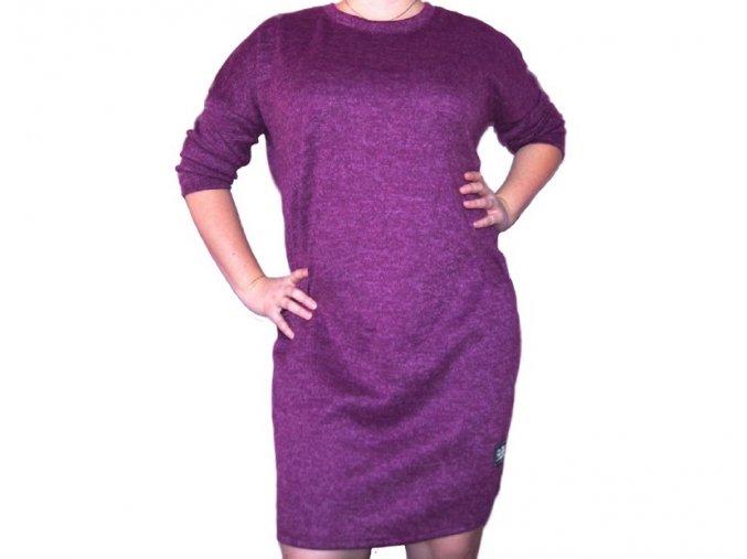Úpletové šaty Elisa