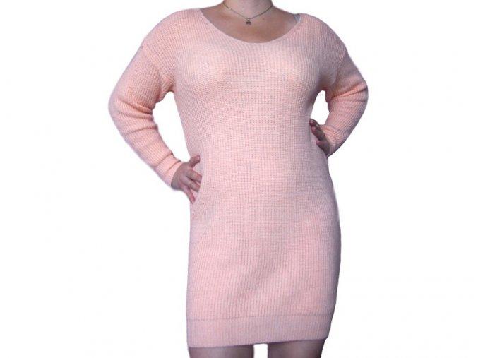 Dlouhý pletený svetr Irene
