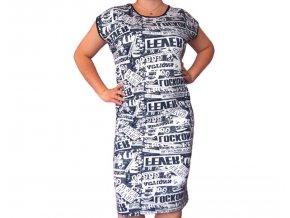 Originální stylové šaty NEWS