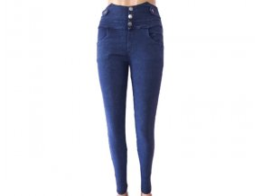 Elastické džínové kalhoty