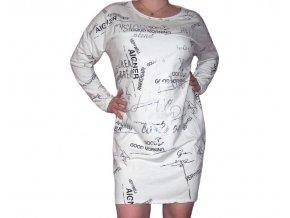 Moderní bavlněné šaty Mystery