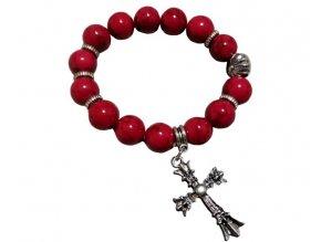 Náramek s křížkem