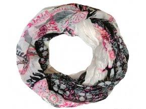 Kruhový šátek Manique