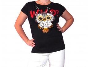 Tričko Crazy Owl