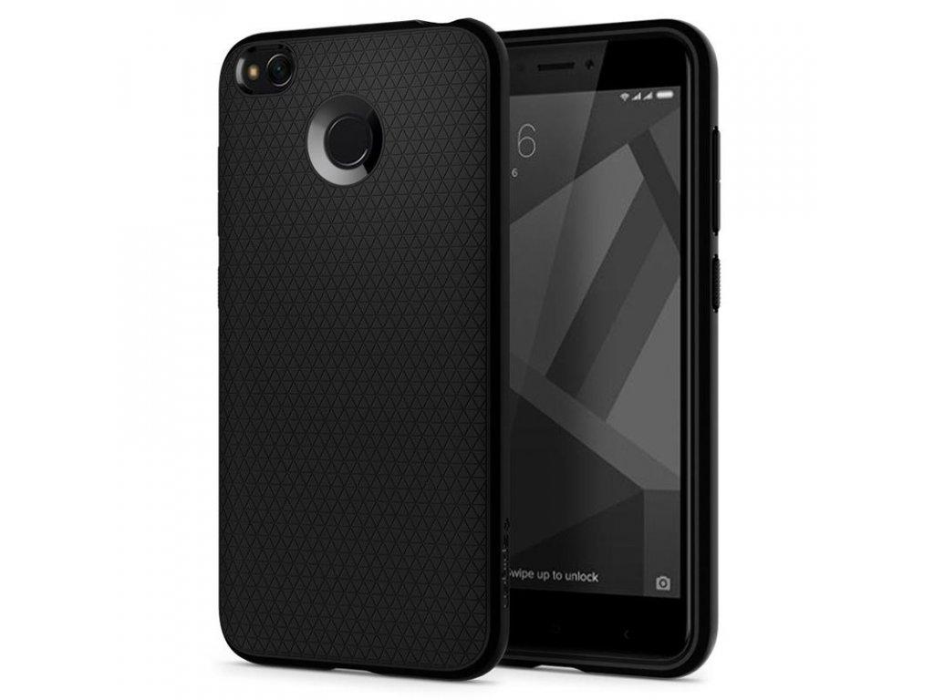 Spigen Liquid Air, black - Xiaomi Redmi 4X/4