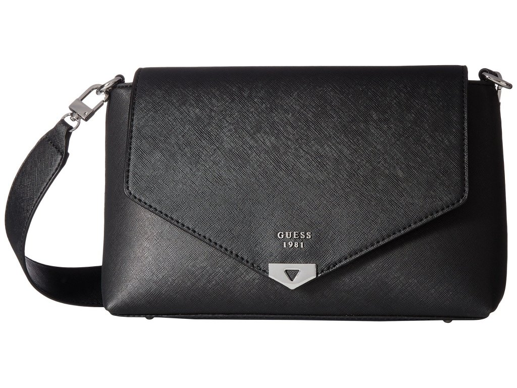 GUESS Lottie Shoulder Bag black