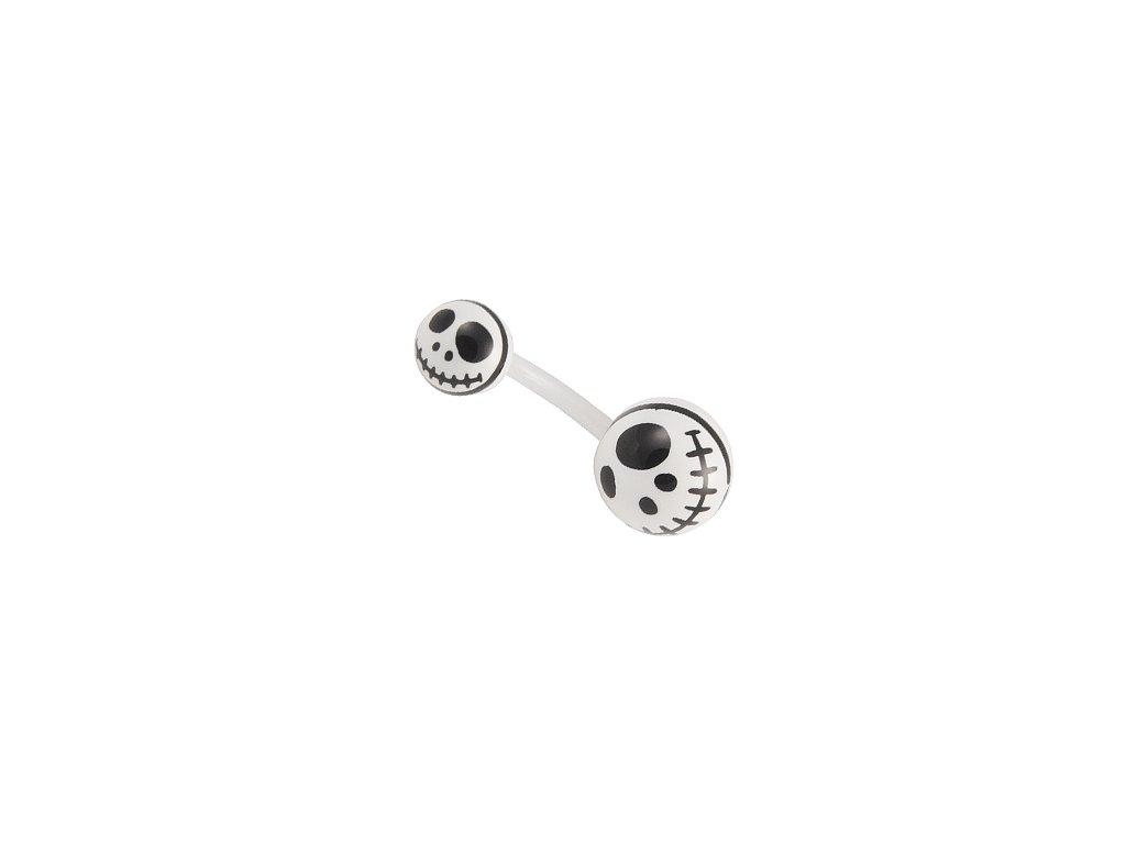 13499 piercing do pupiku uncb33 white black