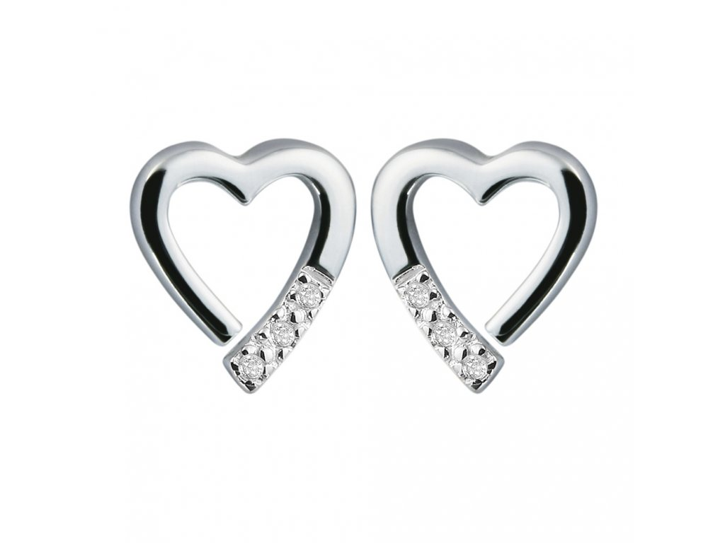 Náušnice Hot Diamonds Just add Love Memories
