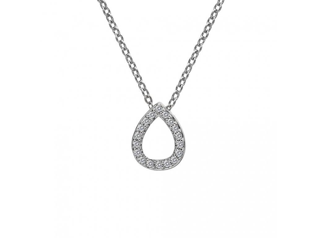 Stříbrný přívěsek Hot Diamonds Teardrop Micro Bliss DP695