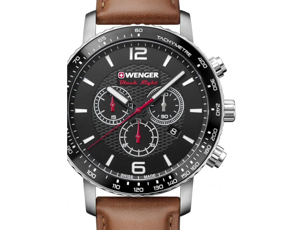 Pánské hodinky Wenger 01.1843.104 Roadster Black Night