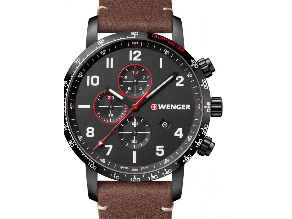 Pánské hodinky Wenger 01.1543.107 Attitude Chrono Special Edition