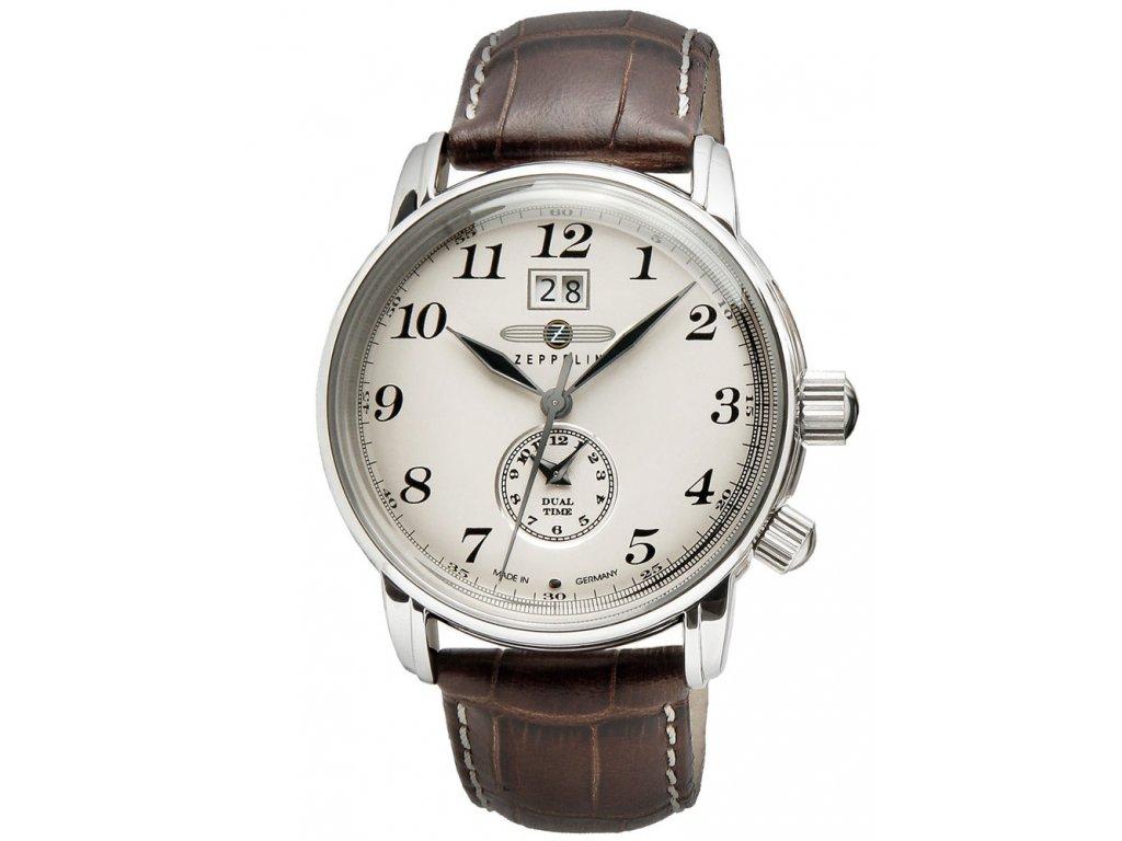 Pánské hodinky Zeppelin LZ127 7644-5 Dual-Time