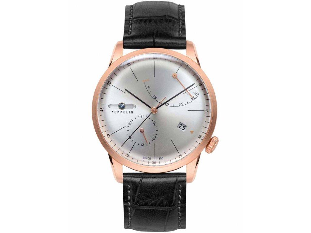 Pánské hodinky Zeppelin Flatline 7368-4 rosegold