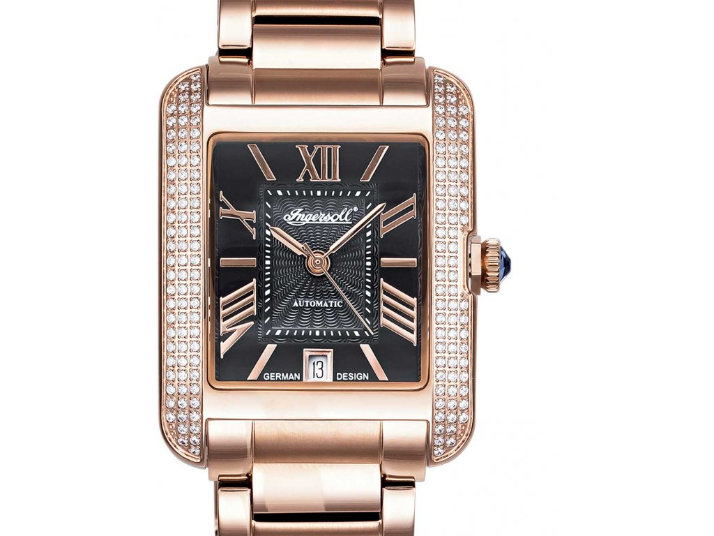 Dámské hodinky Ingersoll IN1715RBK Noble Vesage