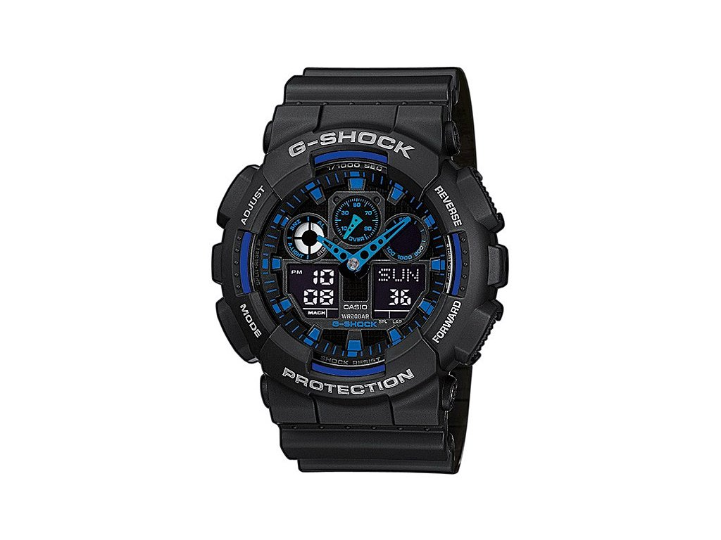 Pánské hodinky CASIO GA-100-1A2ER G-SHOCK