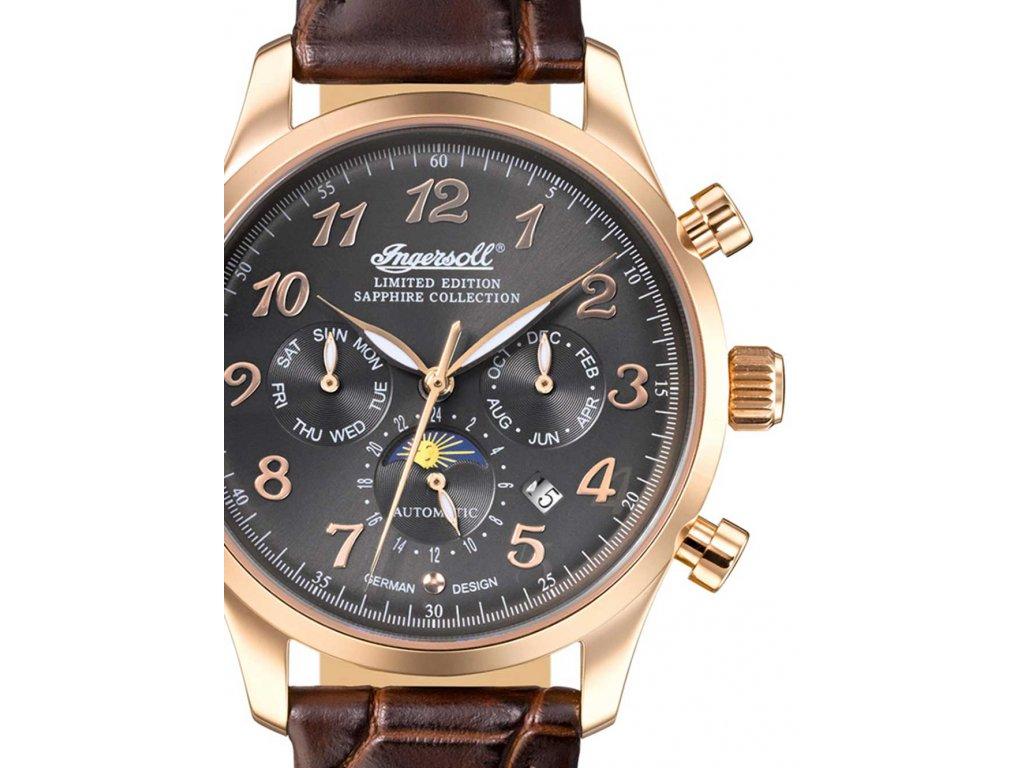 Pánské hodinky Ingersoll IN1420RGU Santa Anna II