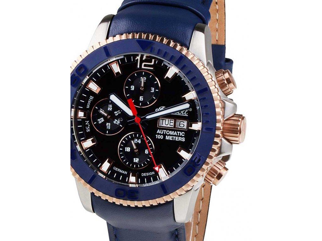 Pánské hodinky Ingersoll IN1105BL Bison No.58