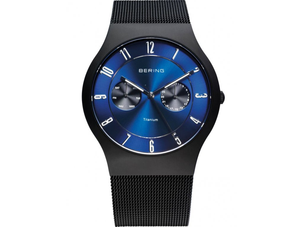 Pánské hodinky Bering 11939-078 Titanium